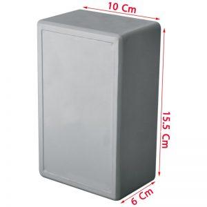 ابعاد 15.5*10 سانتیمتر ارتفاع 6 سانتیمتر