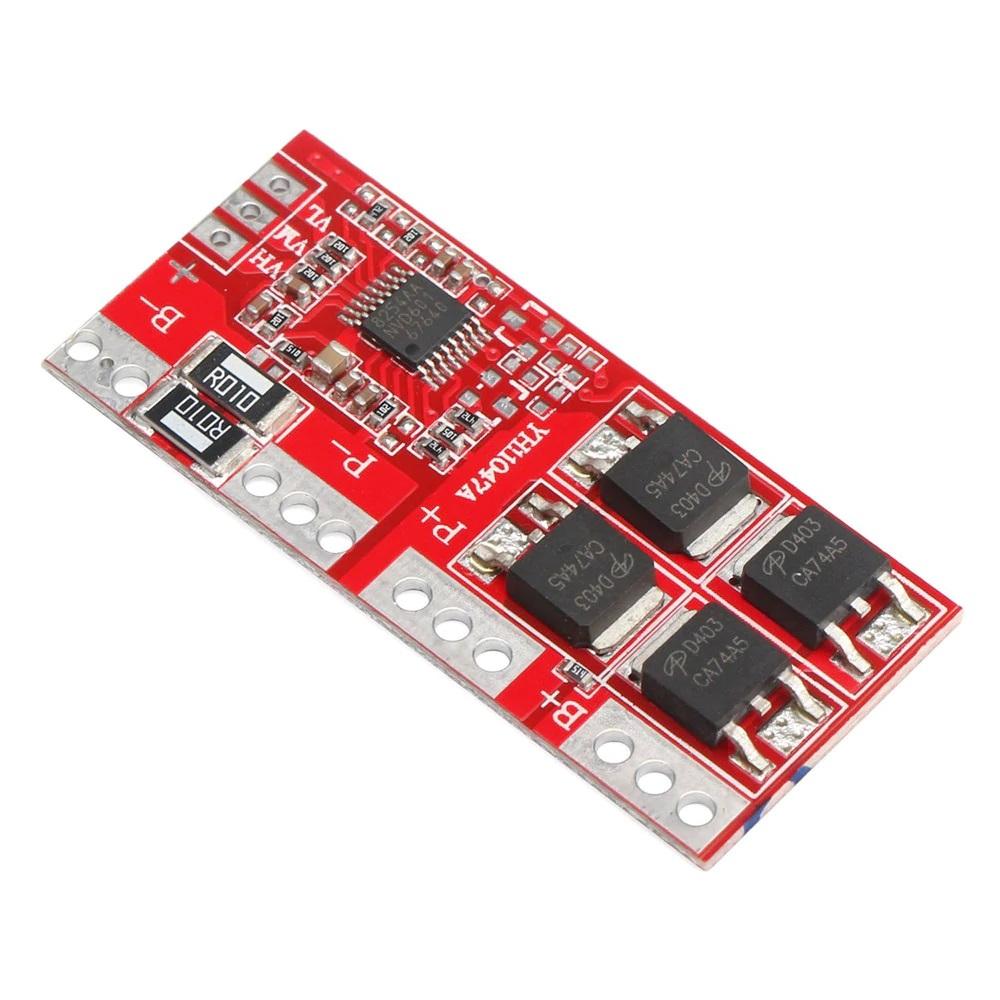 مدار محافظ و کنترل شارژ باتری لیتیومی سه و چهار سل ۳۰ آمپر