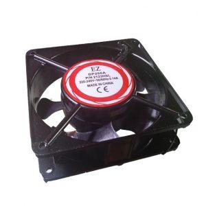 فن 220V فلزی ساده 12x12cm عرض 4cm