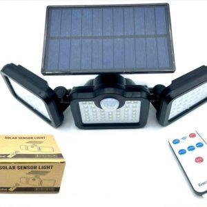 پرژکتور خورشیدی شارژی سنسور دار